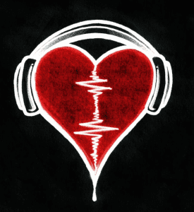 Heart & headphones