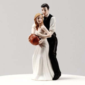 Basketball Bride And Groom