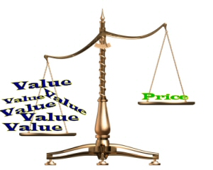 Value vs. Price