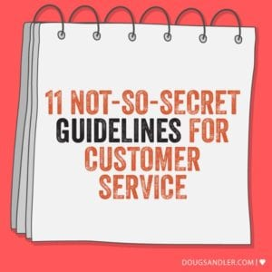 Guidelines for Customer Service