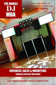 The Mobile DJ MBA Front Cover